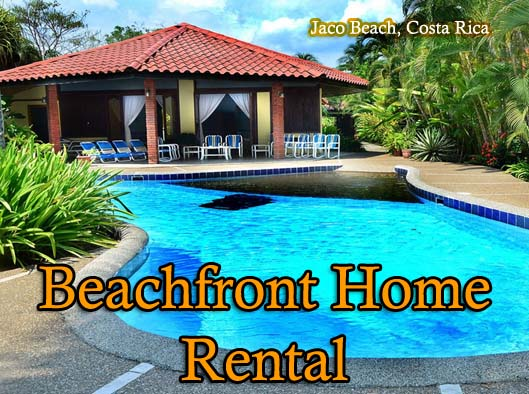 Jaco costa rica vacation rentals luxury homes for Vacation homes for rent in costa rica