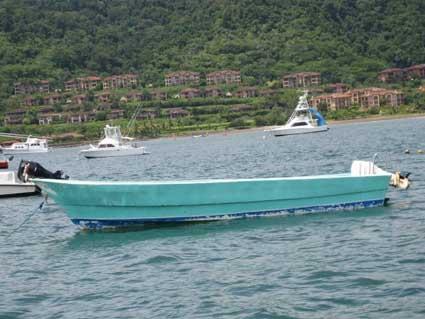 Costa Rica Taxi Boat