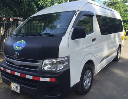 Costa Rica Transfers Vans
