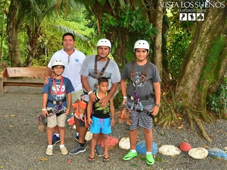 Costa Rica Jaco Canopy Tours