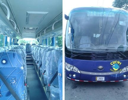 Jaco Beach Private Bus For Big Groups