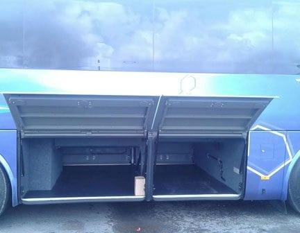Spacious bus