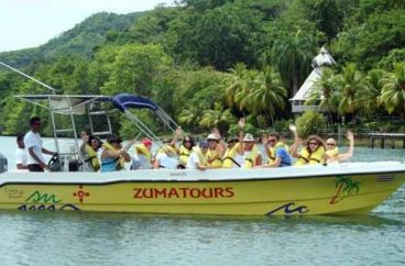 Montezuma Taxi Boat