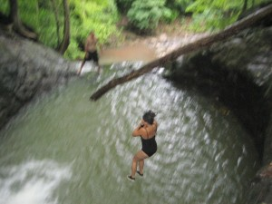 Tres Piletas Waterfall Tours Parrita CostaRica