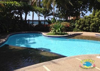 Beach Front Home Rental Pool