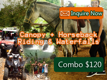 Waterfalls + Horseback Riding & Canopy