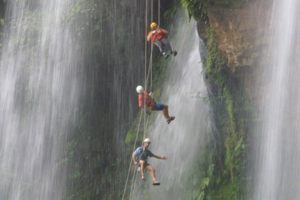 Rappeling tour package