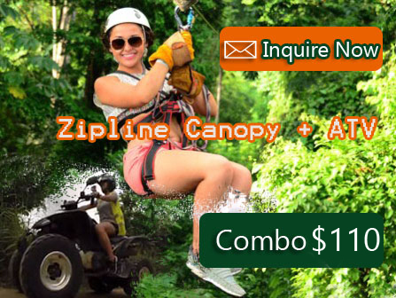 ATV + Zipline